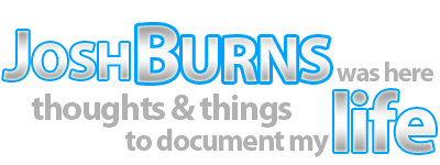 Josh Burns was here logo
