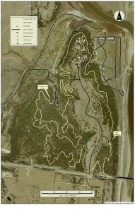 Fancy Creek Trail Map